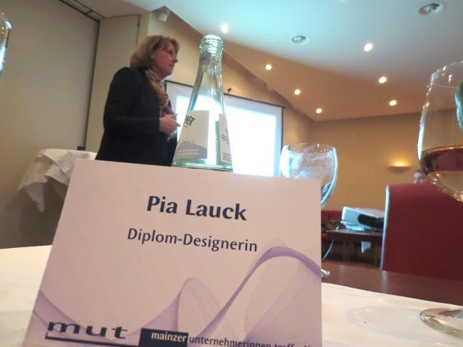 Pia Lauck Vortrag Social Media MUT