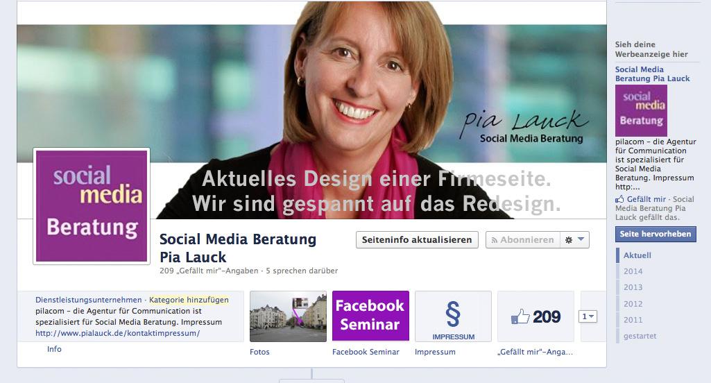 Facebook-Redesign