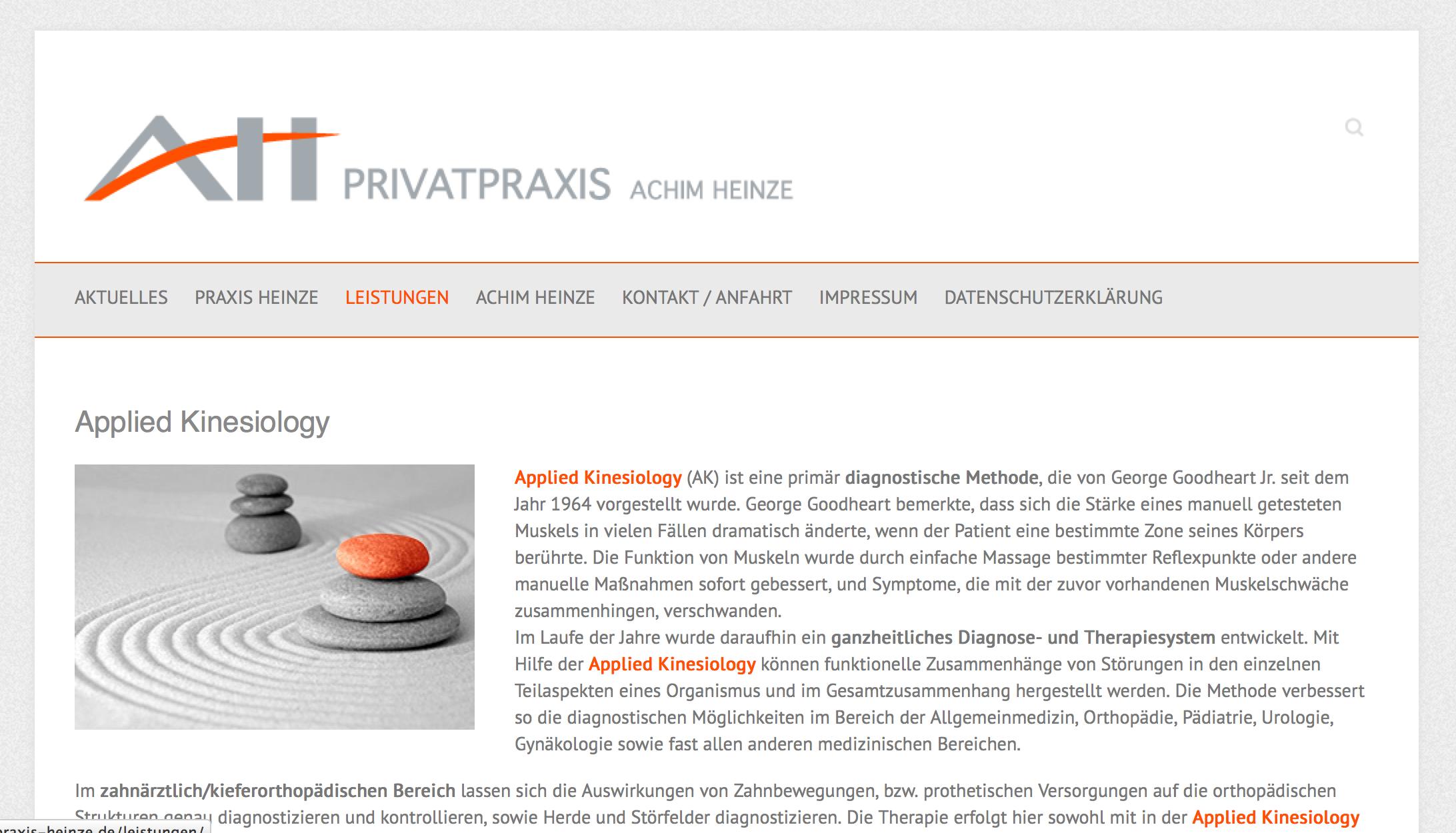 Privatpraxis Heinze