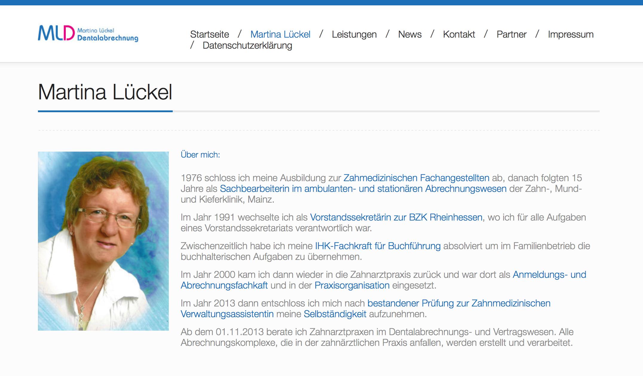 Martina Lückel – Dentalabrechnungen