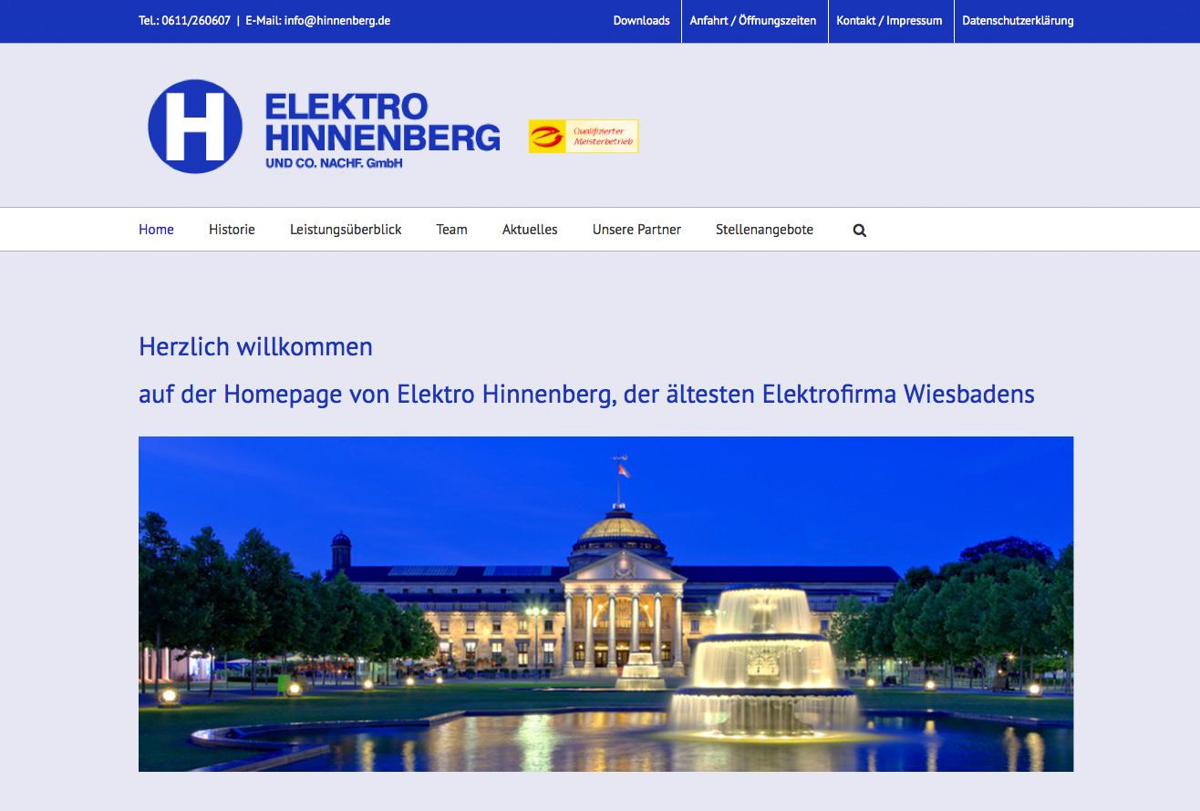 Elektro Hinnenberg, Wiesbaden