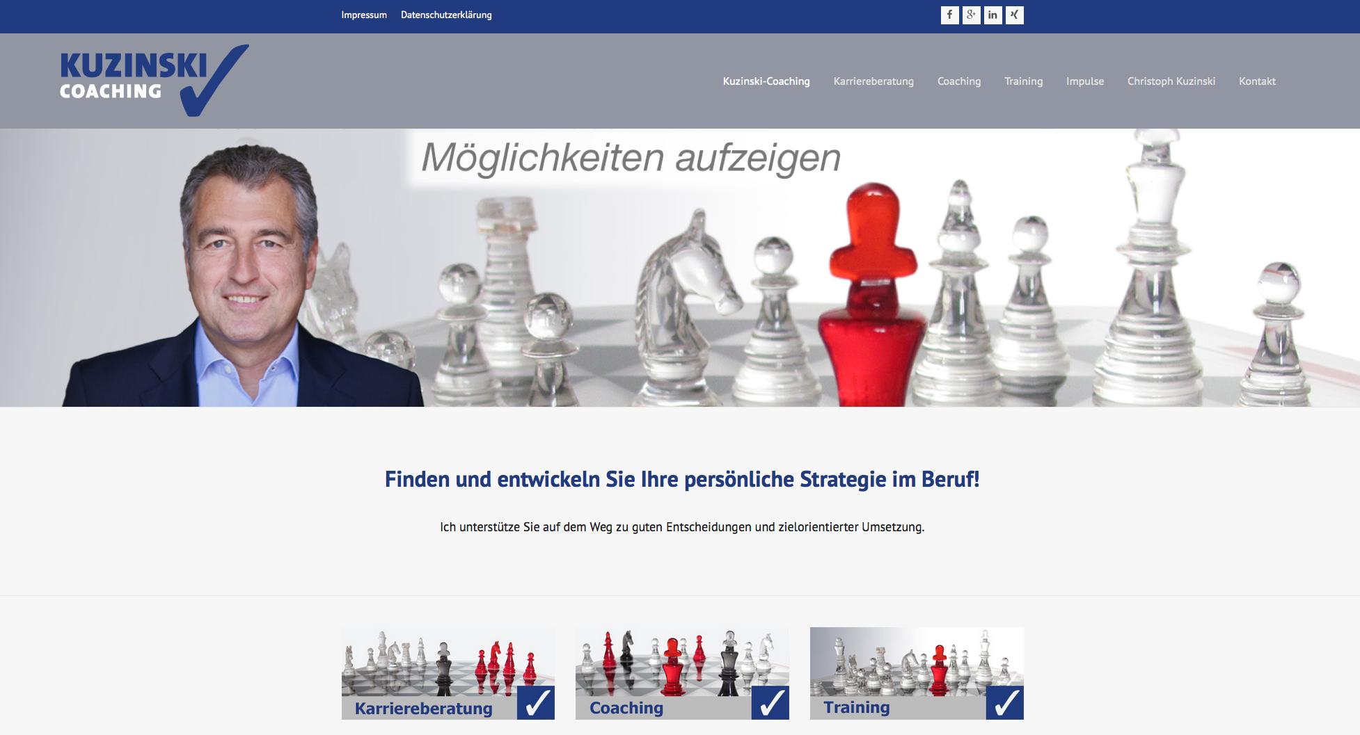 Kuzinski-Coaching, Wiesbaden / Frankfurt