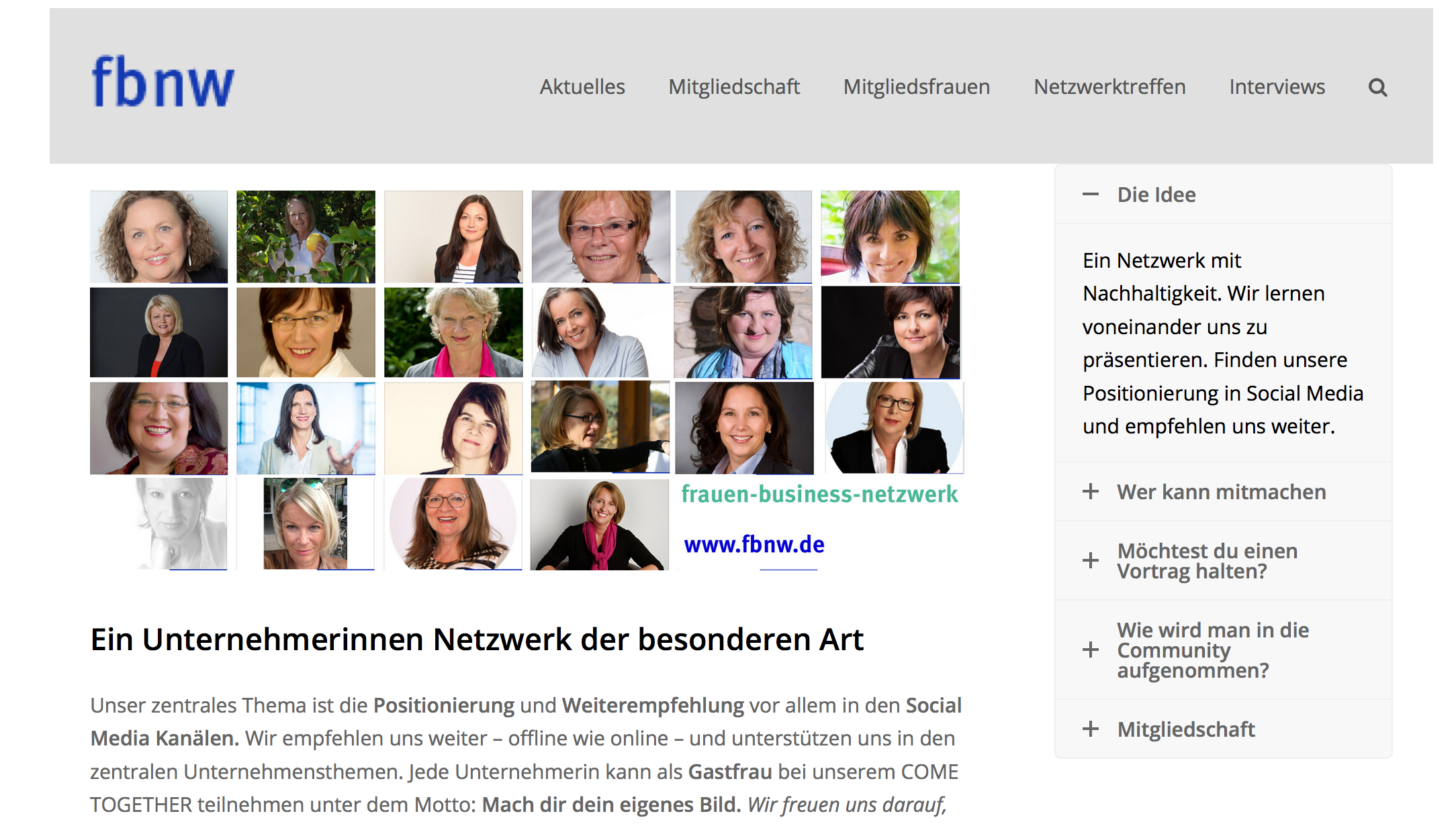 Frauenbusiness Netzwerk
