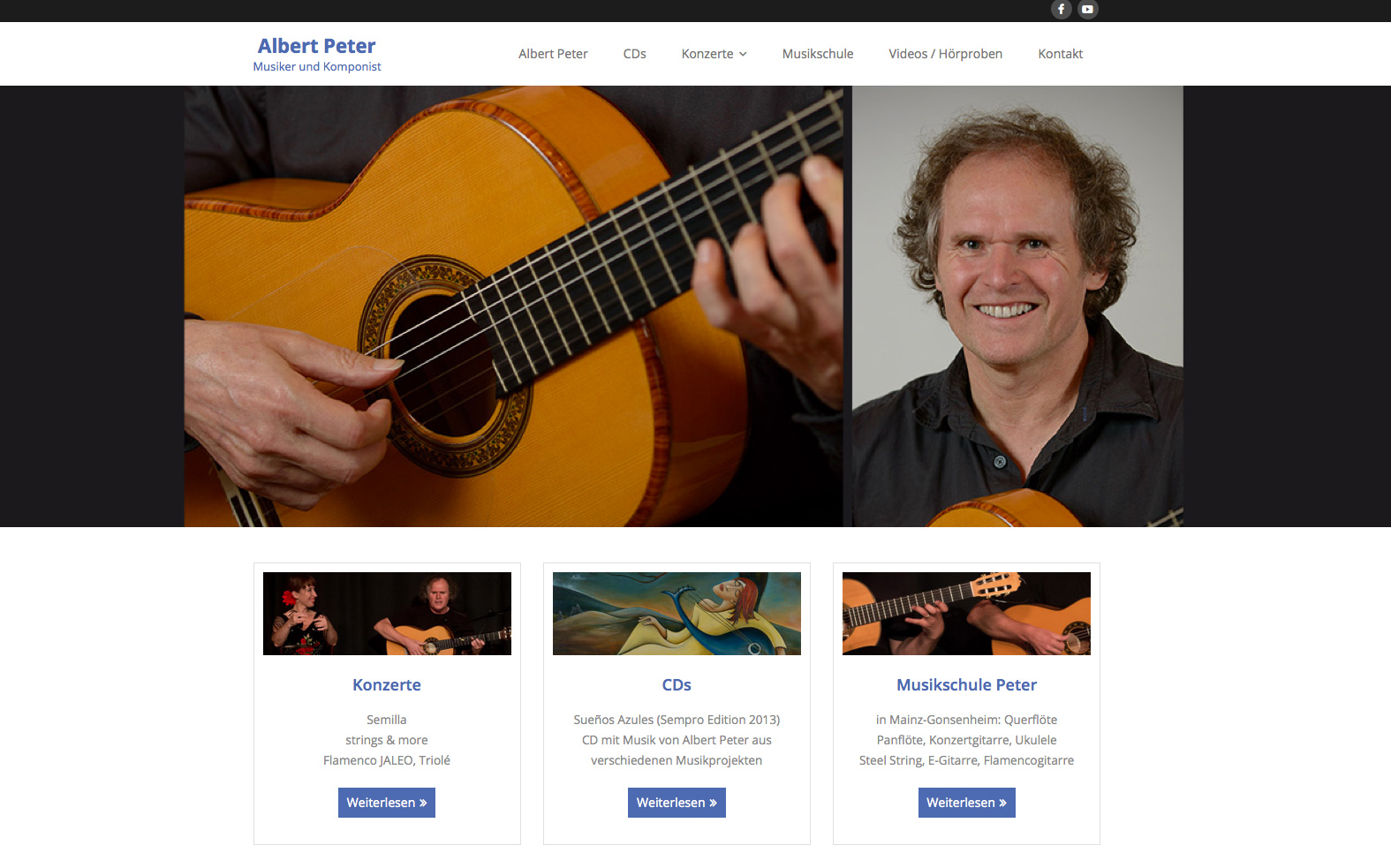 Albert Peter – Musiker, Mainz