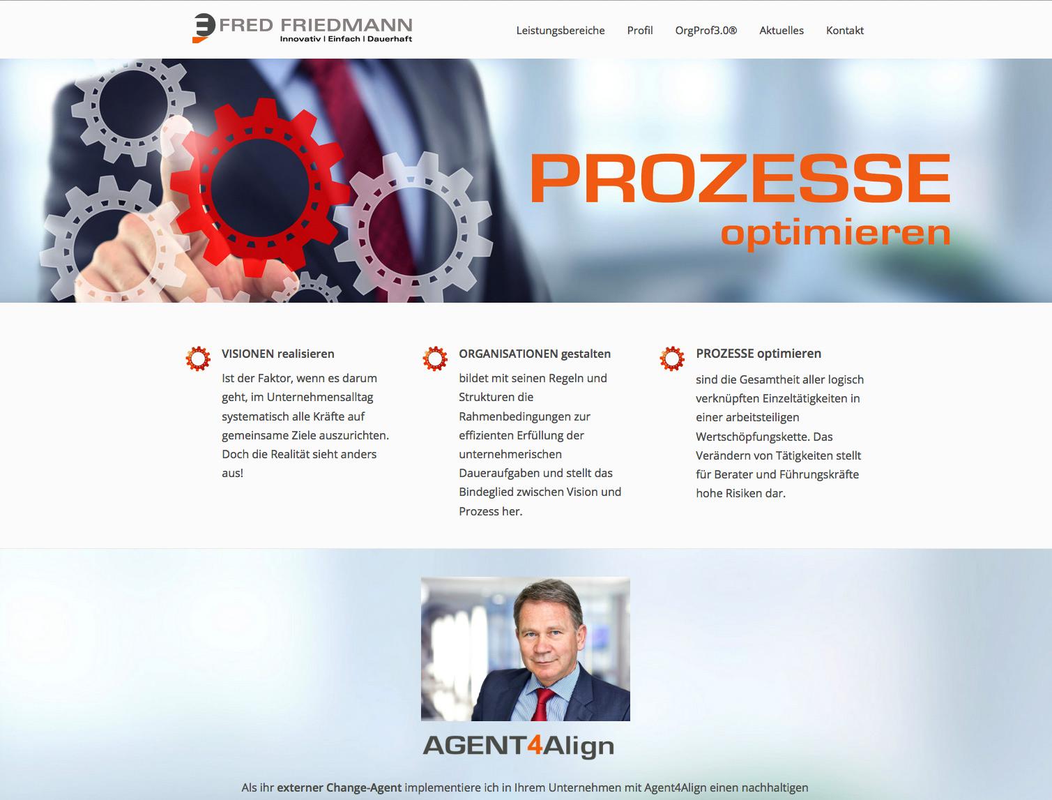 Dr. Fred Friedmann, AGENT4Align®