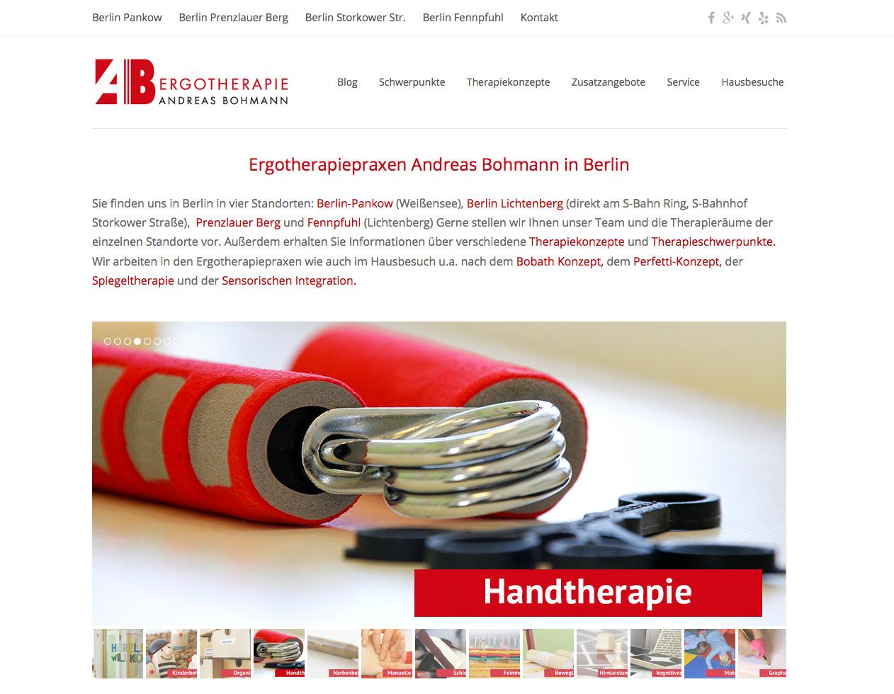 Www.ergotherapie-bohmann.de In Berlin