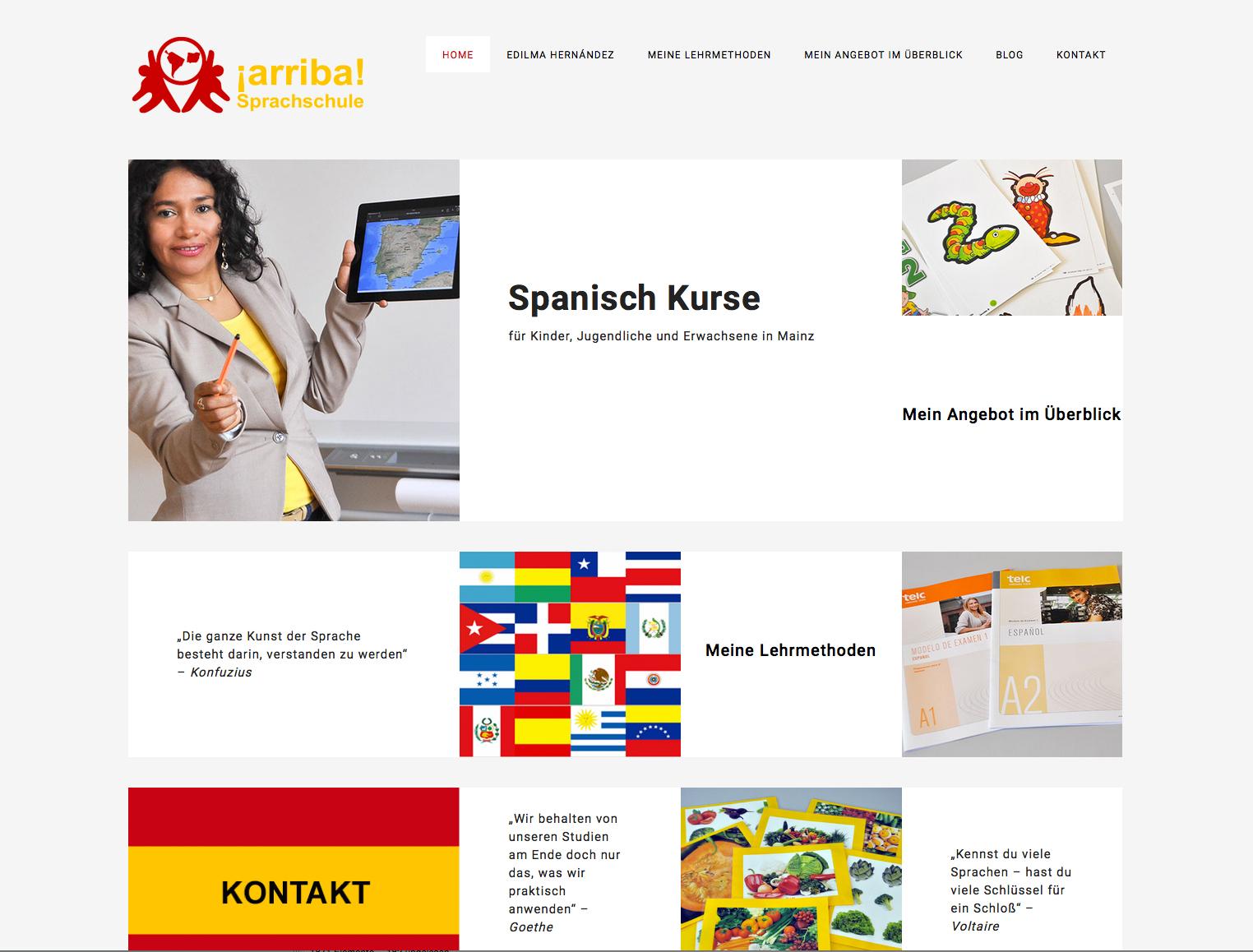 Edilma Hernández, Spanischkurse In Mainz
