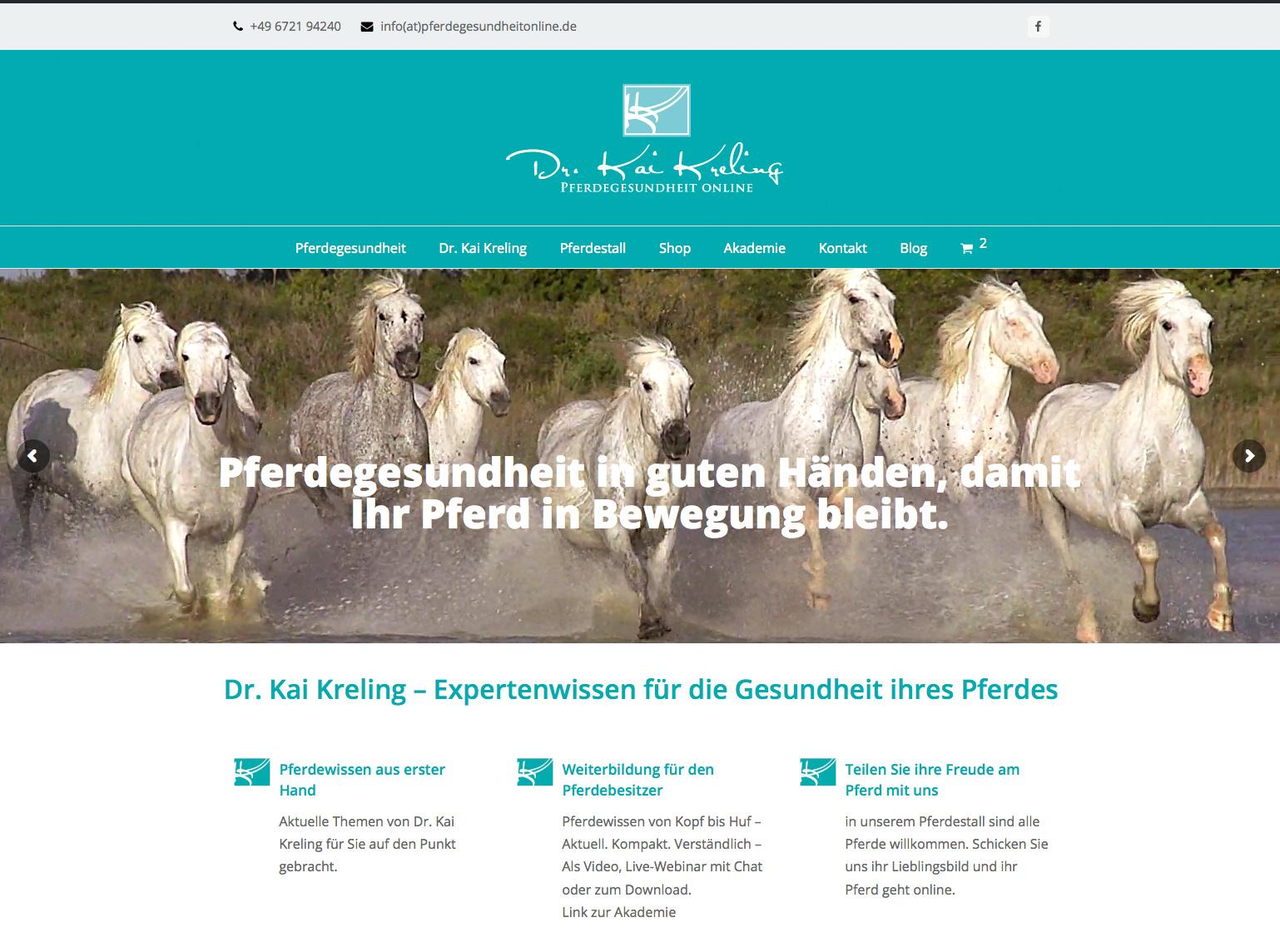 Dr. Kai Kreling, Pferdegesundheit Online