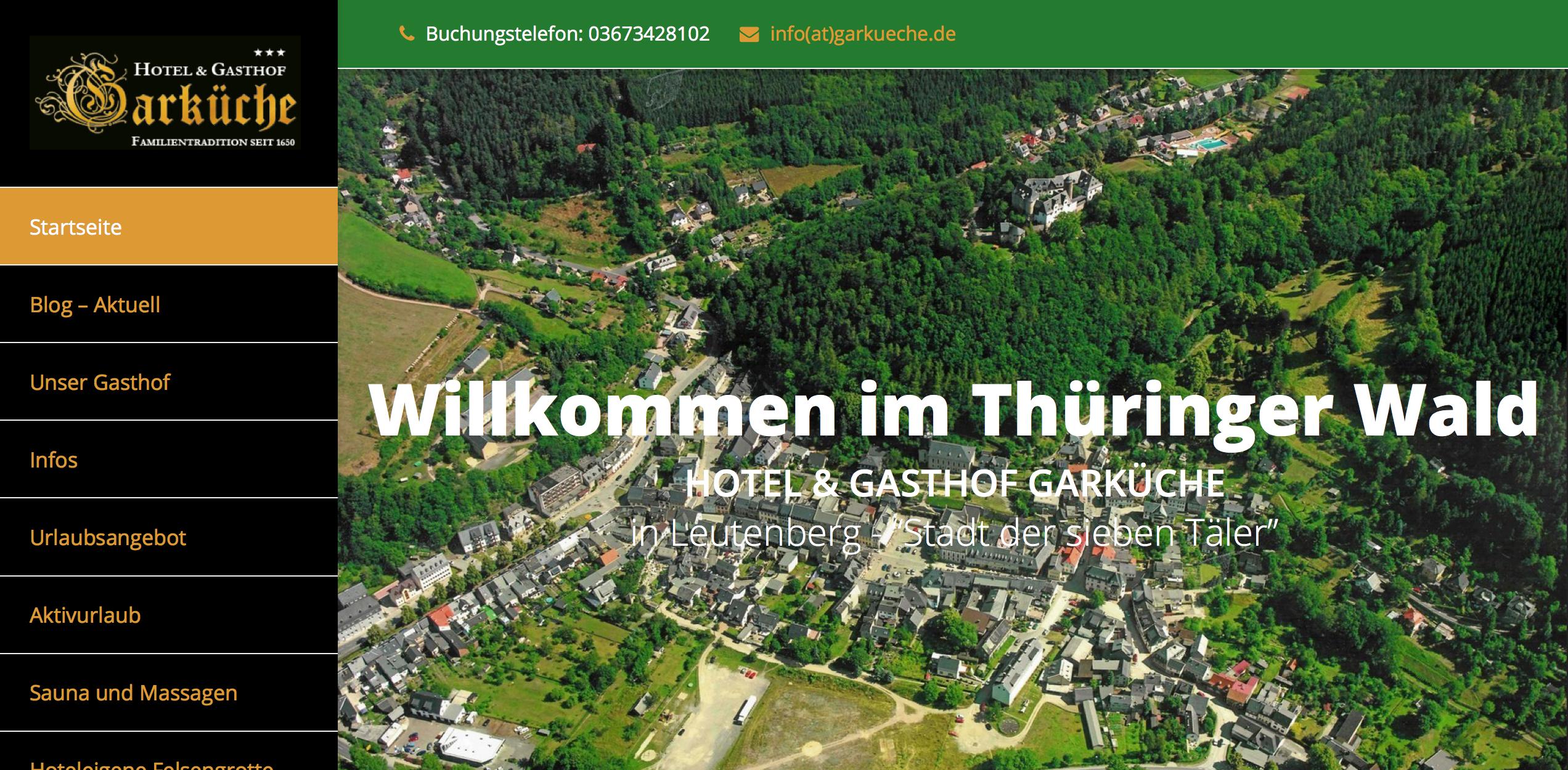 Gasthof Garküche In Leutenberg