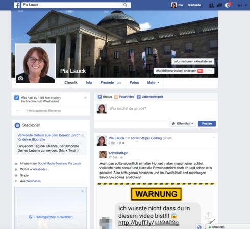 facebook steckbrief erstellen online marketing und social media. Black Bedroom Furniture Sets. Home Design Ideas