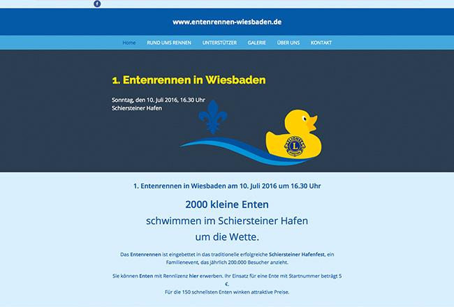 Entenrennen Wiesbaden