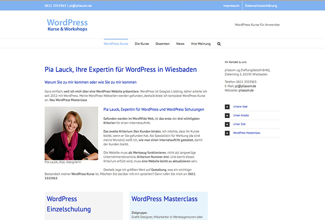 WordPress-Kurse-Wiesbaden