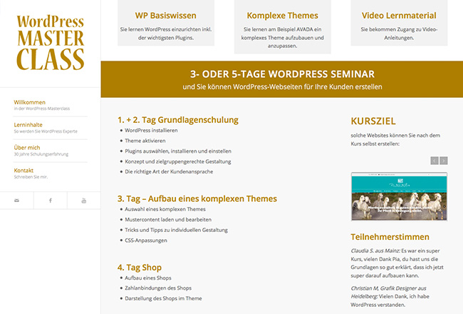 WordPress-Masterclass