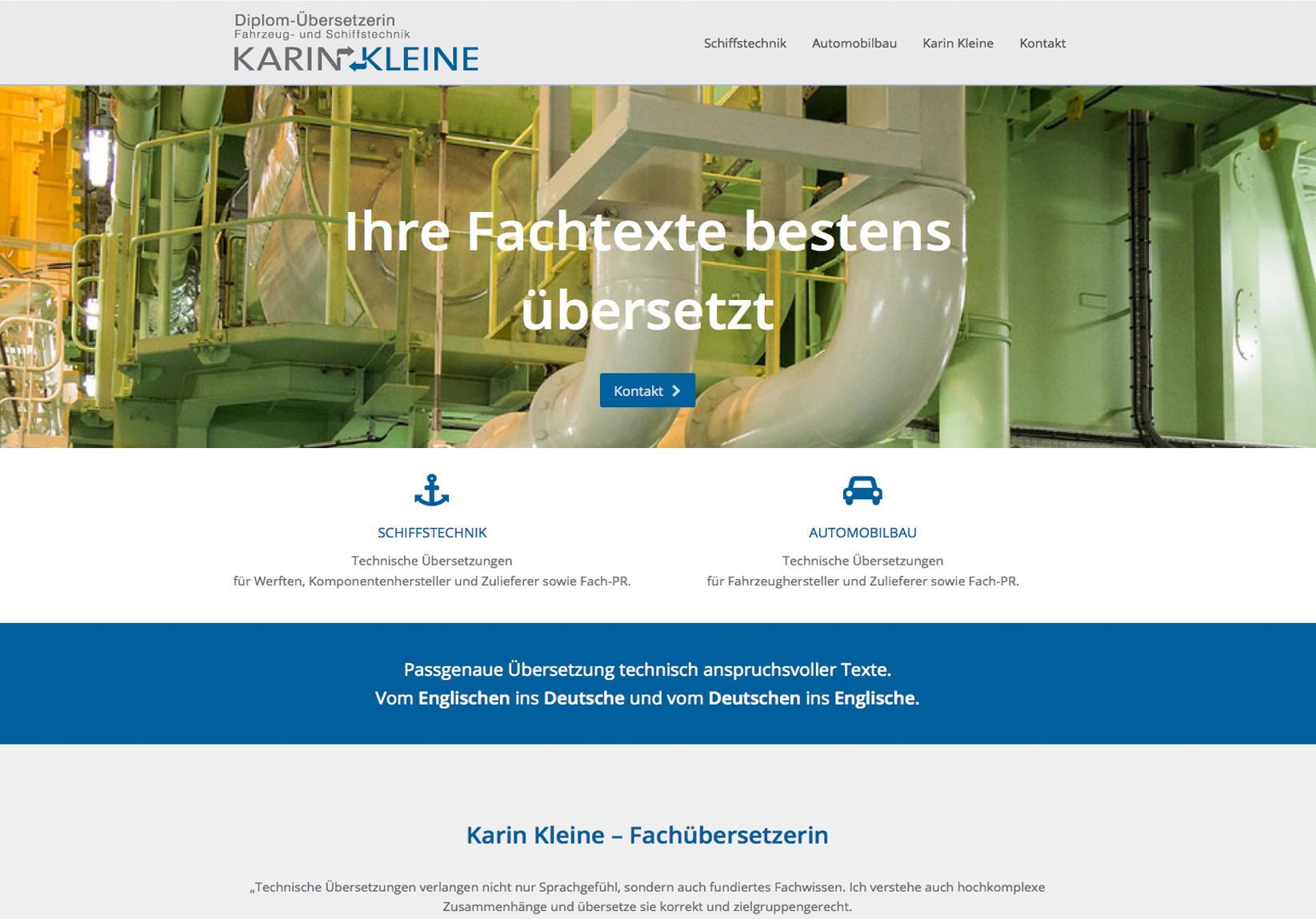 Karin Kleine Fachübersetzungen