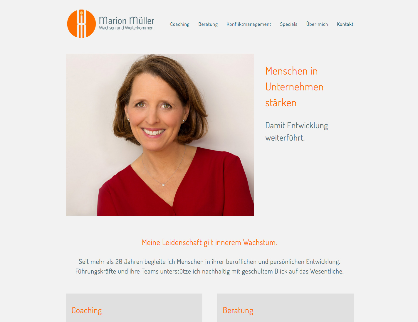 Marion Müller – Business-Coach