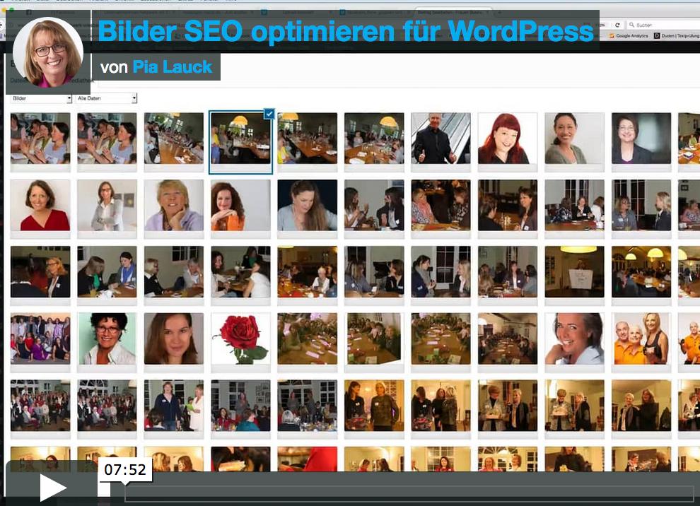 Bilder SEO Optimieren Für WordPress