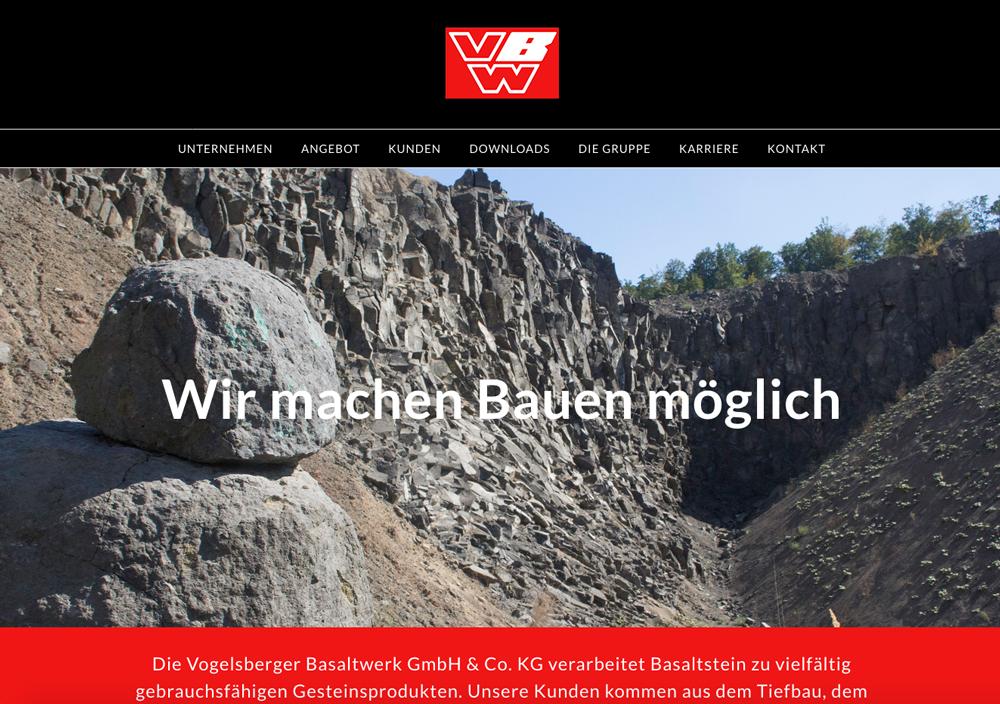 VBW, Vogelsberger Basaltwerke