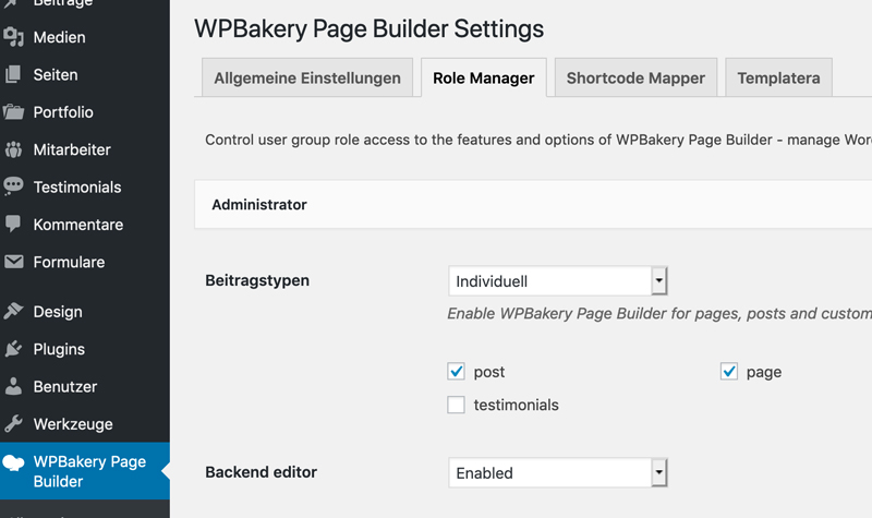 WP_Bakery_page_Builder_einstellen