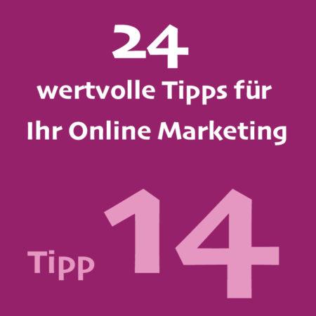 14Tipp Onlinemarketing