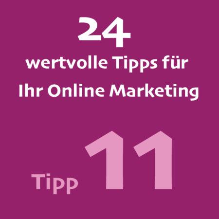 Tipp11 Onlinemarketing