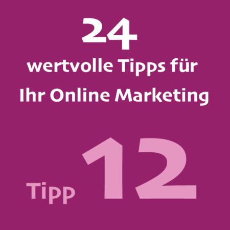 Tipp12 Onlinemarketing