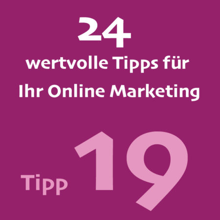Tipp19 Onlinemarketing