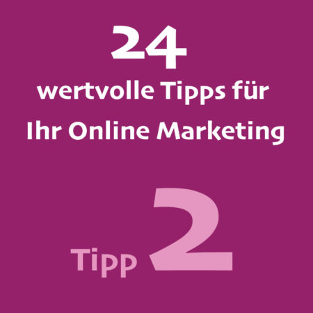 Tipp2 Onlinemarketing