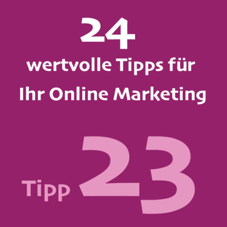 Tipp23 Onlinemarketing