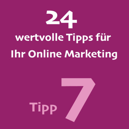 Tipp7 Onlinemarketing